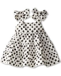 Dolce & Gabbana Halter Polka Dot Dress (Infant) - Lyst