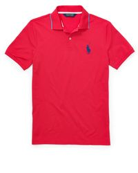 Ralph Lauren | Tailored-fit Piqu�� Polo Shirt | Lyst