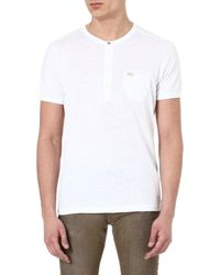 Diesel White T-cosme T-shirt - Lyst