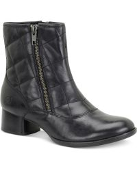 Born - Minna Quilted Booties - Lyst