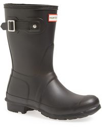 Hunter 'Original Short' Rain Boot - Lyst