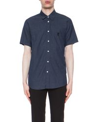 Marc Jacobs Short Sleeve Button Down - Lyst