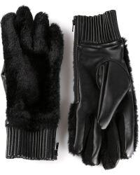 KTZ - Fur Gloves - Lyst
