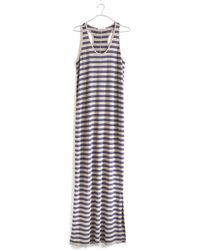 Madewell Racerback Maxidress in Stripe - Lyst