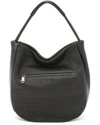 Christopher Kon | Micro Weave Hobo Bag - Black | Lyst
