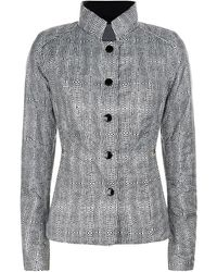 Creenstone - Polka-dot Quilted Jacket - Lyst