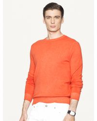 Ralph Lauren Black Label Cashmere Crewneck Sweater - Lyst