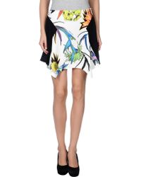 Just Cavalli Mini Skirt - Lyst