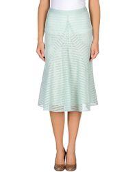 Derek Lam 34 Length Skirt - Lyst