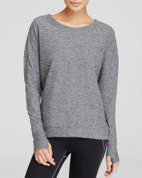 Oiselle - Lux Long Sleeve Sweatshirt - Lyst