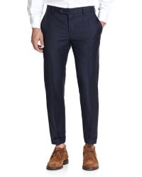 Brunello Cucinelli Wool Pants - Lyst