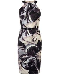 Coast Loula Duchess Satin Dress - Lyst