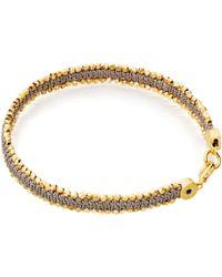Astley Clarke - Grey Forever Changed Nugget Bracelet - Lyst