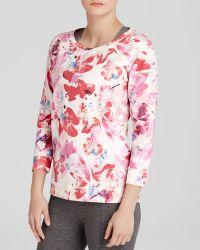 Nydj Floral Sweatshirt - Lyst