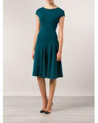 Lanvin Flare Bottom Dress - Lyst