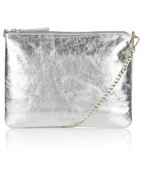 Topshop Leather Chain Crossbody Bag - Lyst