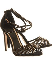 Office Studded Single Sole Sandal - Lyst