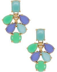 Kate Spade Gemstone Drop Earrings - Lyst