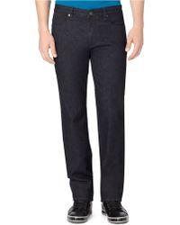 Calvin Klein Straight Leg Jeans - Lyst
