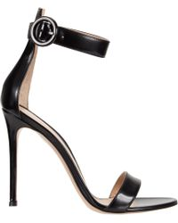 Gianvito Rossi Ankle-Strap Sandal - Lyst