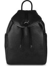 Alexander McQueen Perforated Skull Leather Backpack - For Men - Lyst
