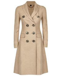 Burberry - Double-breasted Cashmere Coat - Lyst