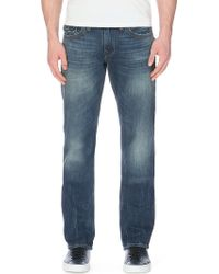 True Religion Ricky Baseball Stitch Relaxed-fit Straight-leg Jeans - Lyst