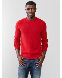 Gap Lambswool Crewneck Sweater - Lyst