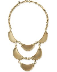 Alexis Bittar Lucite Crescent Statement Necklace - Lyst