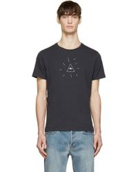 Rag & Bone Black Seeing Eye T_Shirt - Lyst