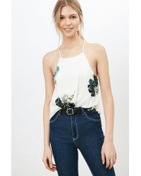 Silence + Noise - Finley Plunge-back Cami - Lyst
