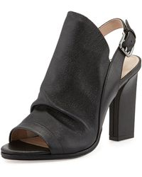 French connection Ivy Leather Glove Sandal - Lyst