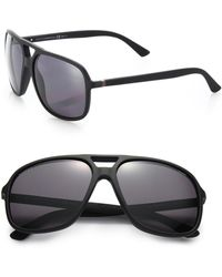 Gucci | 60mm Navigator Sunglasses | Lyst