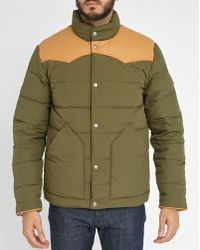 Penfield | Khaki Pelam Down Jacket | Lyst