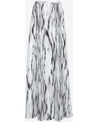 Parker Topanga Pleated Maxi Skirt - Lyst