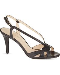 Nine West Itani Leather Sandals - For Women - Lyst