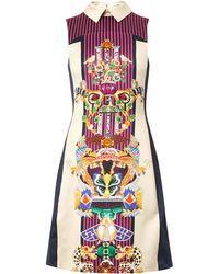 Mary Katrantzou Gattaca Totem Boneprint Dress - Lyst