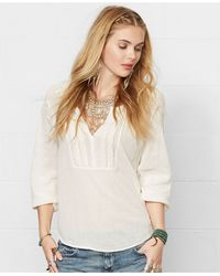 Denim & Supply Ralph Lauren Long-sleeve Embroidered Top - Lyst