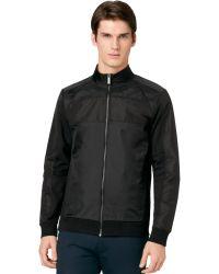 Calvin Klein Ck One Full Zip Slim Fit Jacket - Lyst