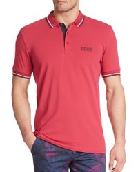 Hugo Boss Green Paddy Polo pink - Lyst