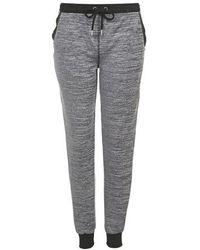 Topshop Space Dye Loungewear Joggers gray - Lyst