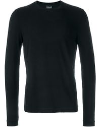 Giorgio Armani | Longsleeved T-shirt | Lyst