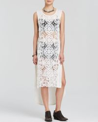 Free People Dress - Never Enough white - Lyst