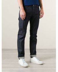 Closed Tapered Stone Washed Jeans - Lyst