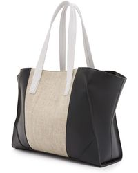 Narciso Rodriguez - Claire Tote - Natural/black/stone - Lyst