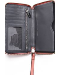 Marc By Marc Jacobs - Crosby Quilted Wristlet - Black - Lyst