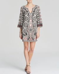 Alice + Olivia Dress - Lowell Embroidered Shift - Lyst