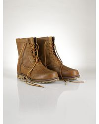 Polo Ralph Lauren Leather Whitsand Boot - Lyst
