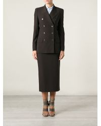 Jean Paul Gaultier Double Breasted Skirt Suit - Lyst