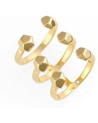 Rebecca Minkoff - Cube Wrap Ring - Lyst